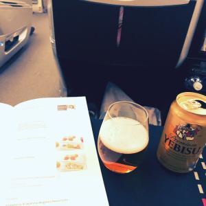 JALビジネスクラス:機内食
