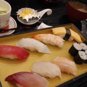 退院祝いランチ☆お寿司☆