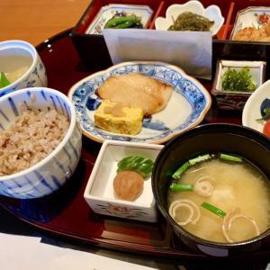 安定の朝飯(・ω・)