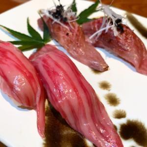 肉寿司の美