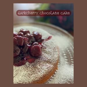 ダークチェリーチョコレートケーキ☆