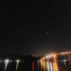 夜景と星たち