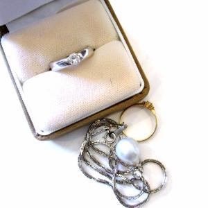 金とプラチナ、ダイヤモンド 指輪のお買取り