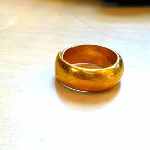 純金 24金の指輪とvm soi