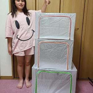 収納BOXを自宅で使って衣替え