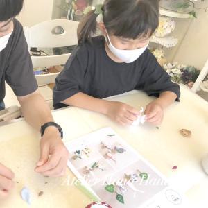 こども粘土レッスン⭐︎ はじめましての生徒さま