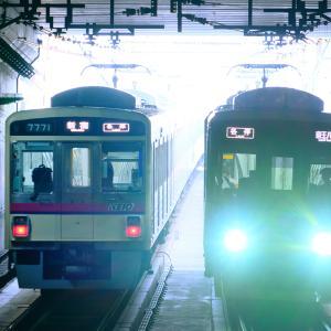 国領駅の明と暗