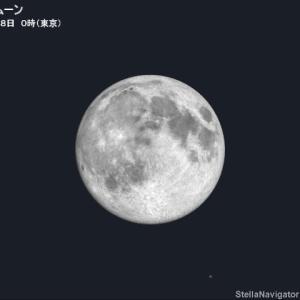 春の満月 〜 スーパームーン