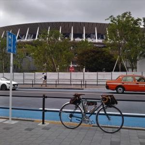 ランドナーで行く 当初予定の東京オリンピック開会式