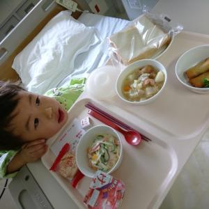 病院の昼食