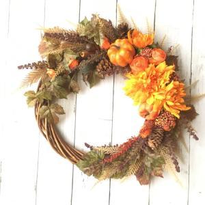 秋のリース