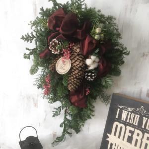 クリスマススワッグ〜グリーンの香りに癒される〜