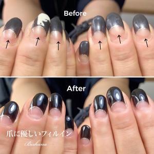 爪の健康:ビフォーアフター