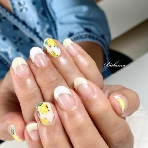 初夏☆レモンネイル