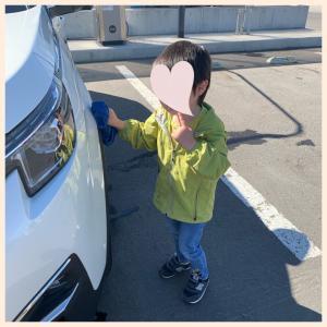 3y3m 幼稚園に行きたくないーーー!!!!