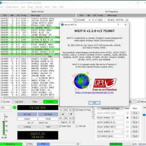 【速報】WSJT-X v2.2.0-rc3 リリース【重要な修正】