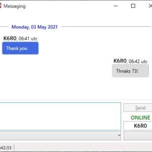 JTAlert 2.50 のメッセージング機能に動揺した件