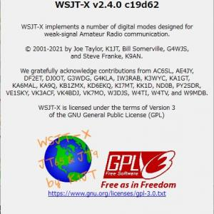 【速報】WSJT-X v2.4.0 リリース