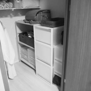 娘の部屋のクローゼット改良