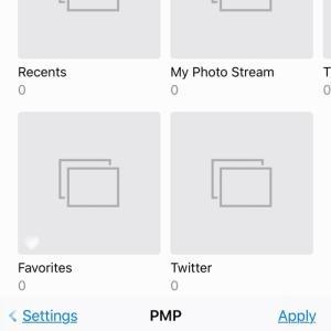 PMP 1.1.4 ワンタップですべての写真を非表示にする