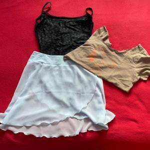 バレエのクラス服装 パート1