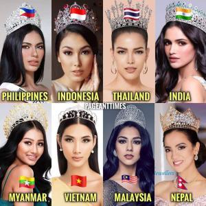 ミス・ユニバース2019アジアの美女たち
