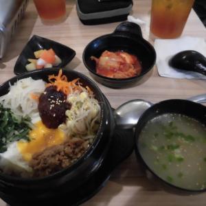 フィリピンで食べる、石焼きビビンバと牛タン