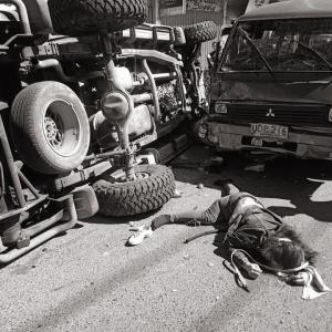 フィリピンではクリスマスを前に交通事故が頻発