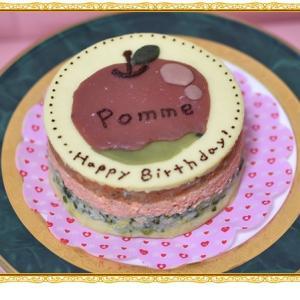 バースデーケーキ&プレゼントありがとう(#^.^#)