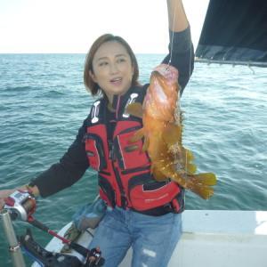 久しぶりの、イカ釣り、意外。