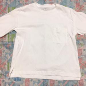 ★映えない無印良品Tシャツ購入品の写真★