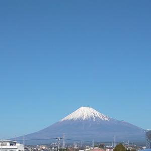 今日の富士山 青々