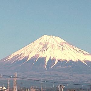 1月3日 今日の富士山