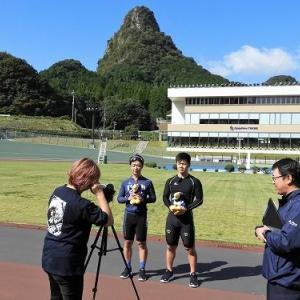 11月たけお競輪PR用の動画の取材が行われました&京王閣記念GⅢ優勝選手