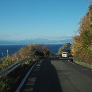 年末年始の旅 -その12- 御浜岬でたそがれて。