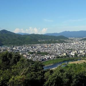 渡来系氏族秦氏と渡月橋、嵐山、桂川。