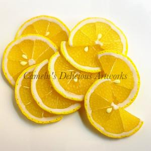 スライスレモンと、コンフィチュールのお取り寄せ♪