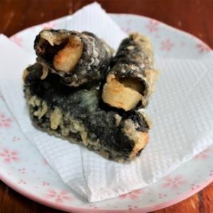 「ホタテの稚貝の磯辺揚げ」を作った。