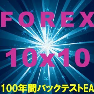 Forex 10x10  バックテスト