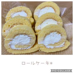 ロールケーキとあんぱん*