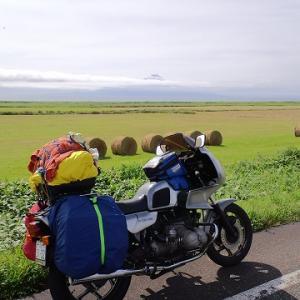 2009年のR100RSで行った北海道ツーリングの写真がどこにもない!