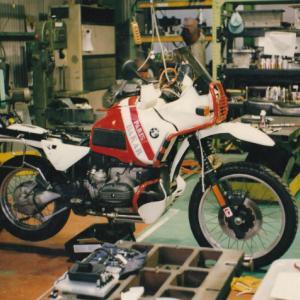 1996年8月9日-11日 BMWR100GSで行く4度めの北海道ツーリング 自宅>青森県野辺地>大間崎>八戸港。