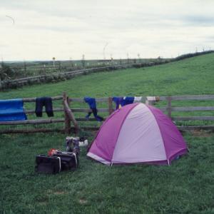 1996年8月16日-17日 BMWR100GSで行く4度めの北海道ツーリング 多和平牧場キャンプ場>日高沙流川キャンプ場>室蘭