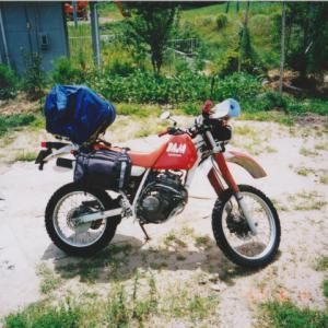 1999年8月6日-8月7日 ホンダXLR250Rバハで行く北海道ツーリング 敦賀>舞鶴>室蘭 道内1日目