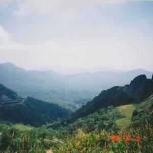 1999年8月8日ー9日 ホンダXLR250Rバハで行く北海道ツーリング 室蘭>静内キャンプ場 道内2-3日目
