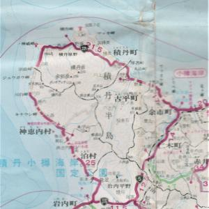 2002年8月17日 ヤマハGTS1000で行く北海道ツーリング 小樽ビジネスホテル>知内農村公園キャンプ場 道内5日目