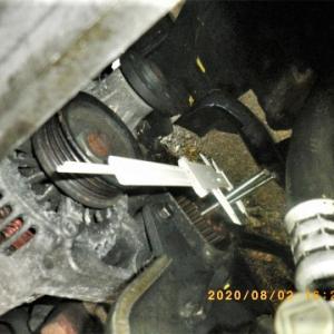 ハイゼットS110V・4WDバン車検あとの整備 クランクプーリー交換 3日目