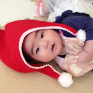 生まれて初めてのクリスマス会♡