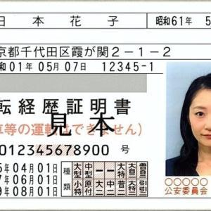 運転免許自主返納