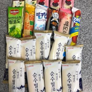 韓国のアイスクリーム